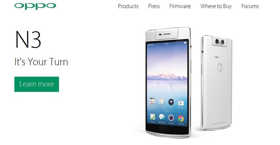 Oppo smartfon