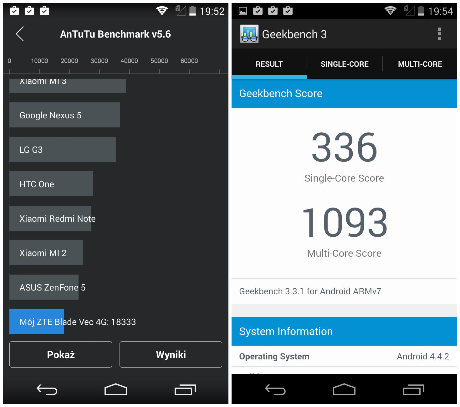 Test smartfona ZTE Blade Vec 4G. Łączność LTE za mniej niż ...