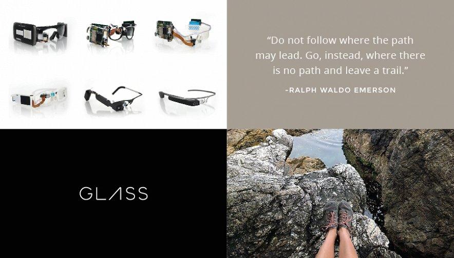 Google Glass projekt
