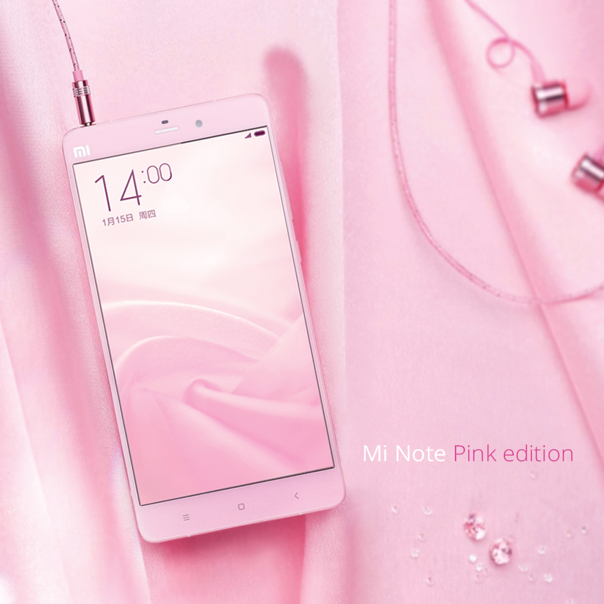 Mi Note Pink Edition 2