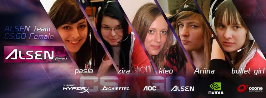 Dziewczyny z Alsen-Team