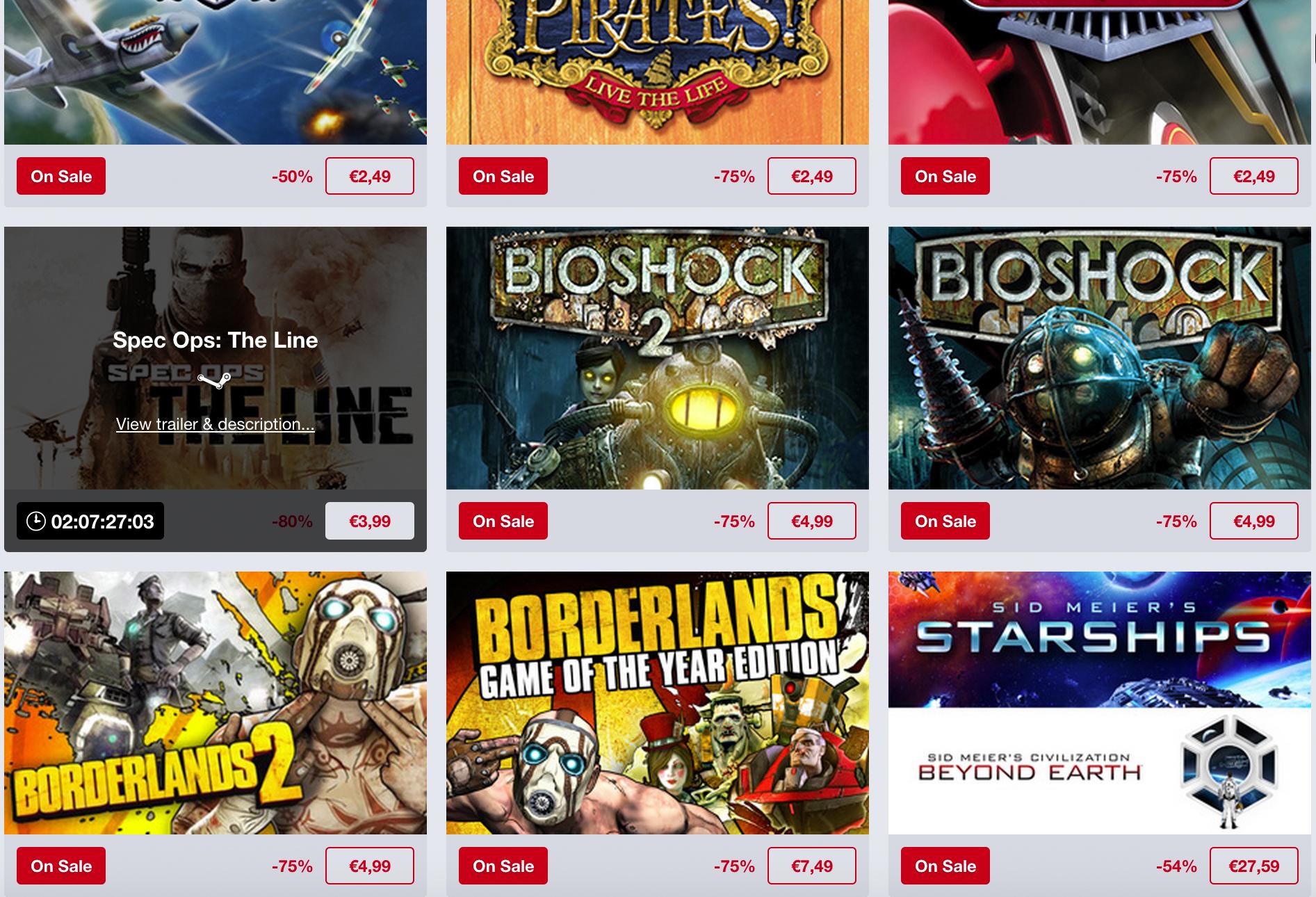 Humble Bundle promocja 2K Games