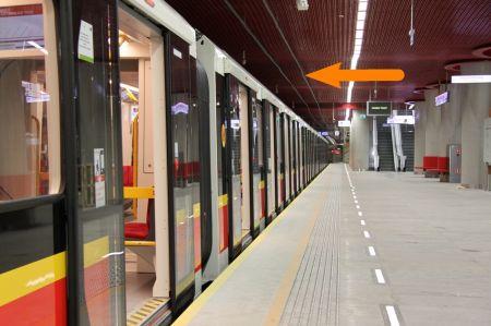 Anteny w warszawskim metrze