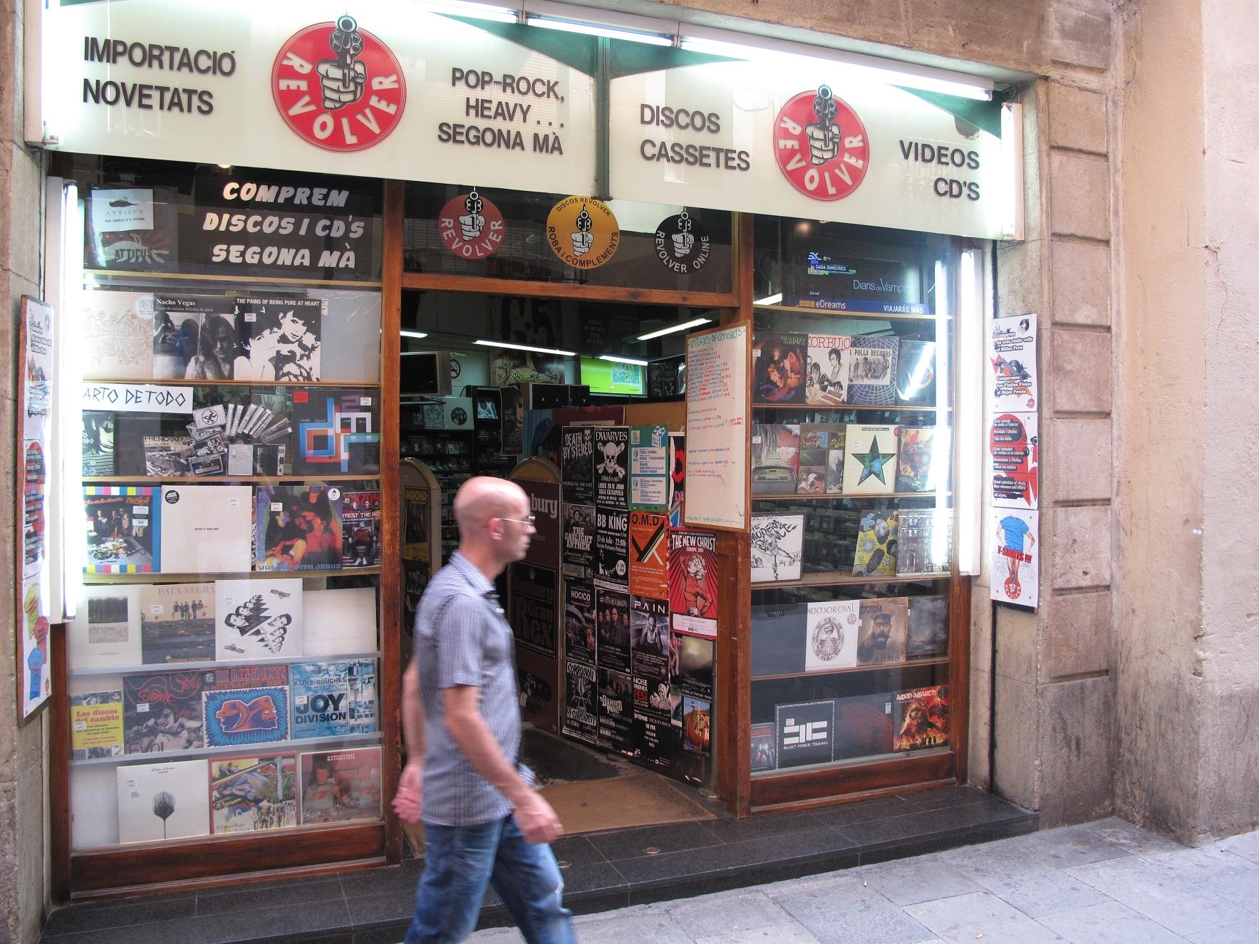 Sklepy muzyczne w Barcelonie