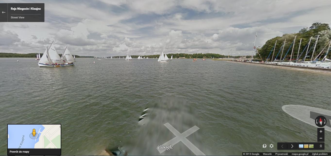Jezioro Niegocin i Kisajno_Street View