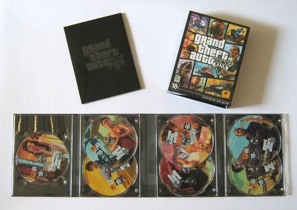 GTA V na 7 DVD?