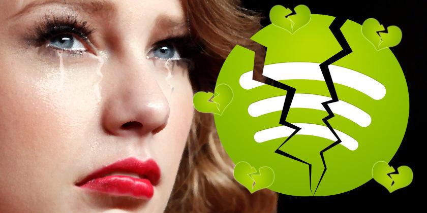 Taylor Swift i Spotify