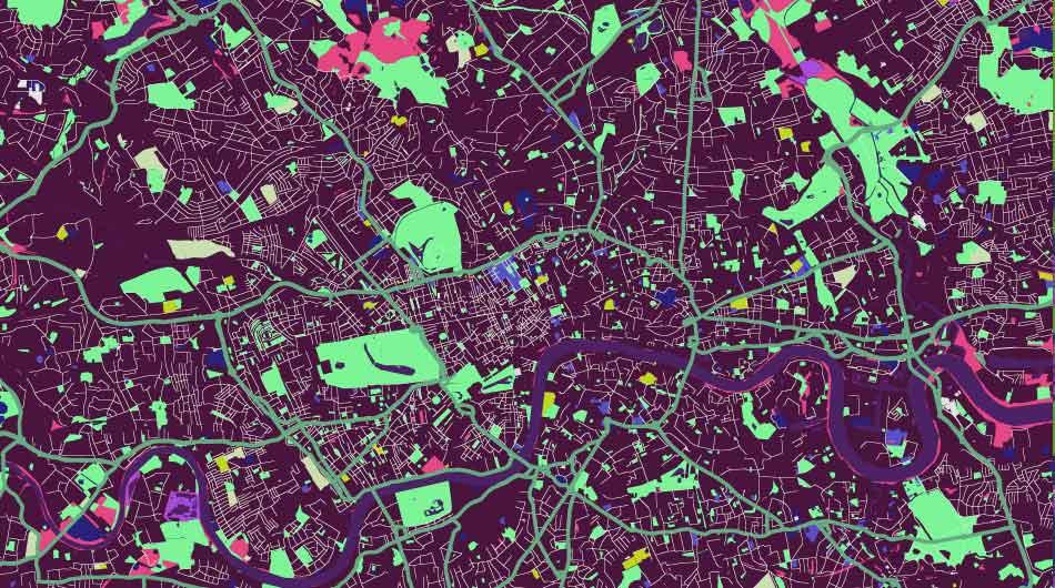 Obrazy z map Google