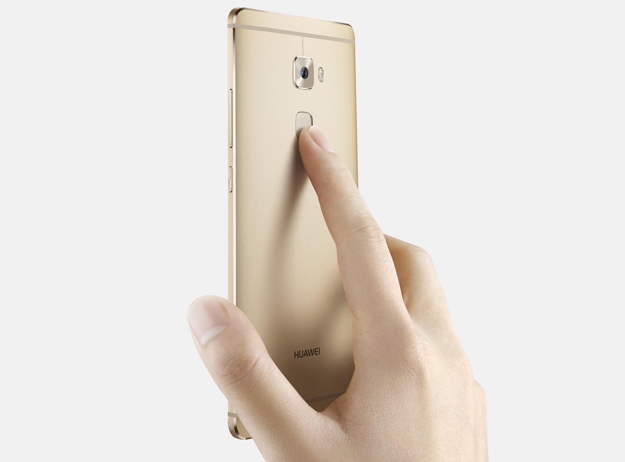 Huawei Mate S_Fingerprint