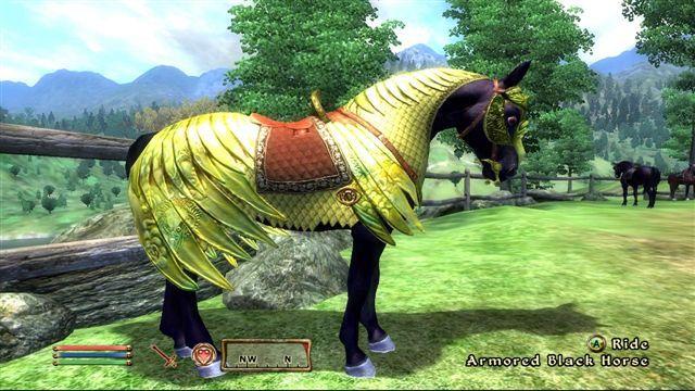 Zbroja dla konia