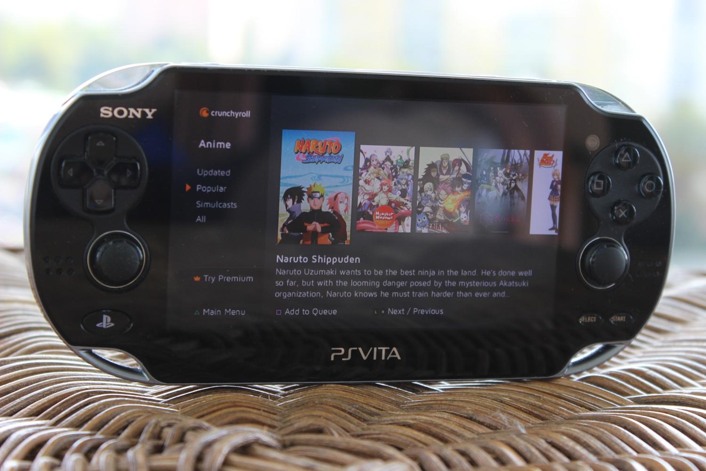 Crunchyroll na PS Vita