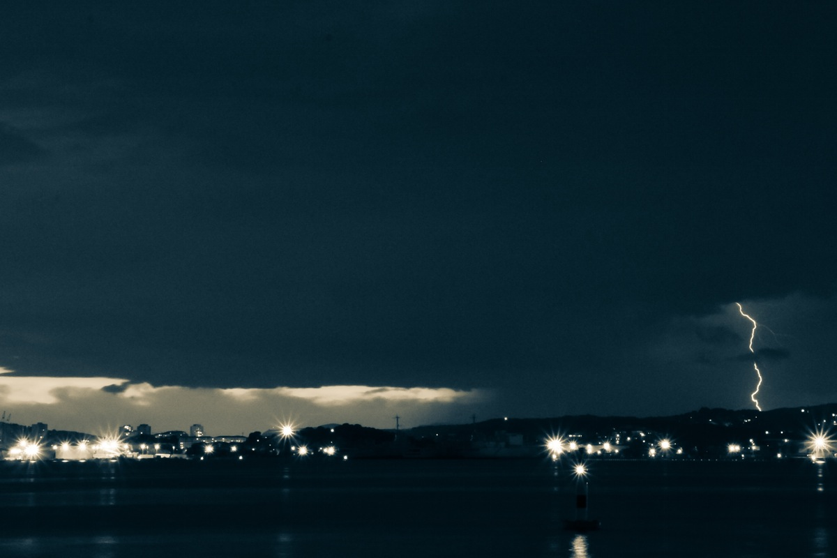 city-lights-night-clouds