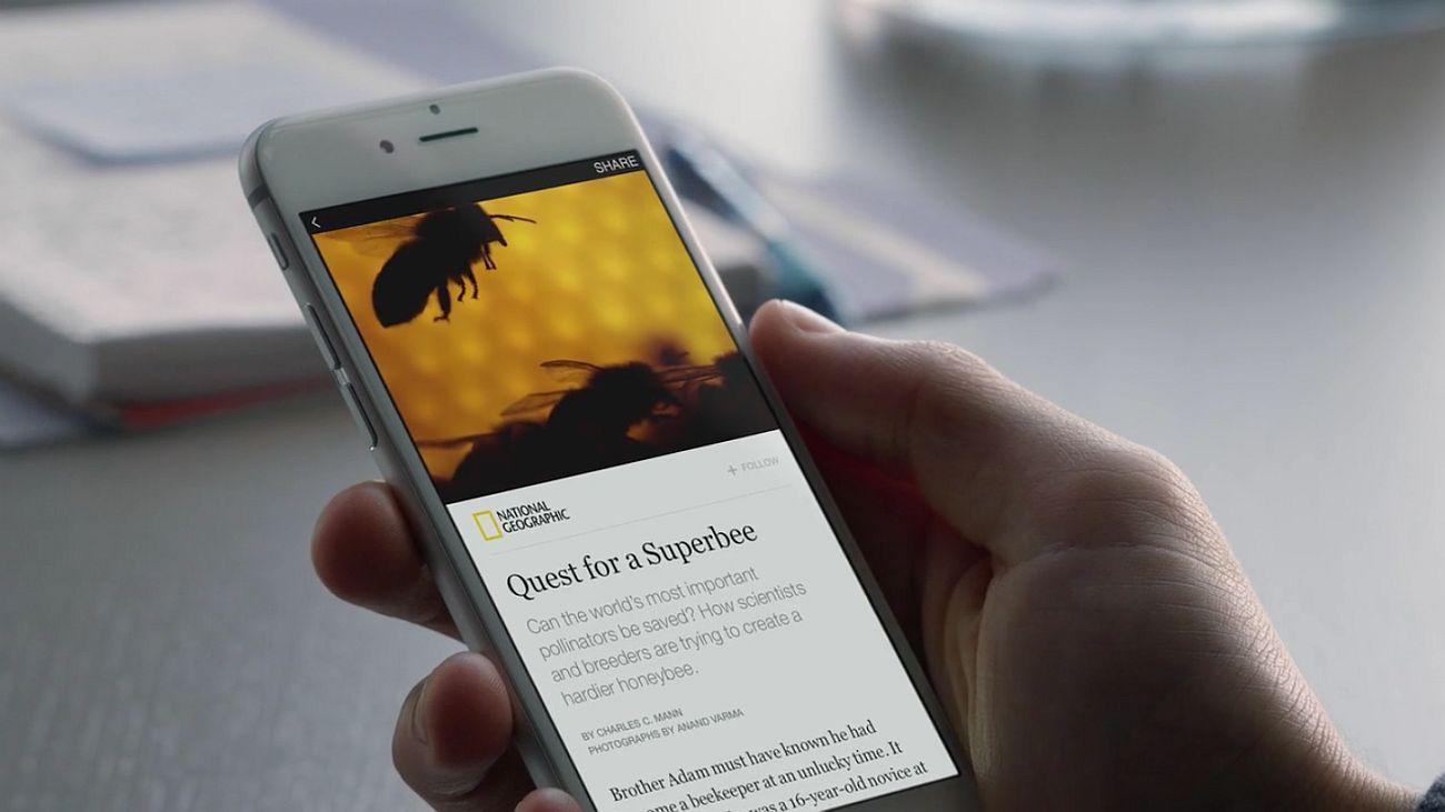 artykuł national geographic smartfon