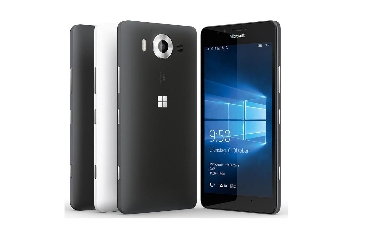 Lumia 950, Windows 10 Mobile