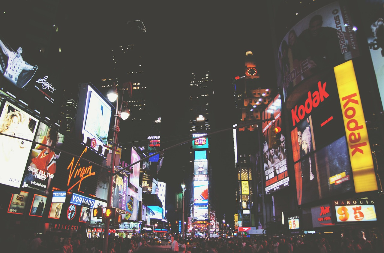 nowy jork - Time Square