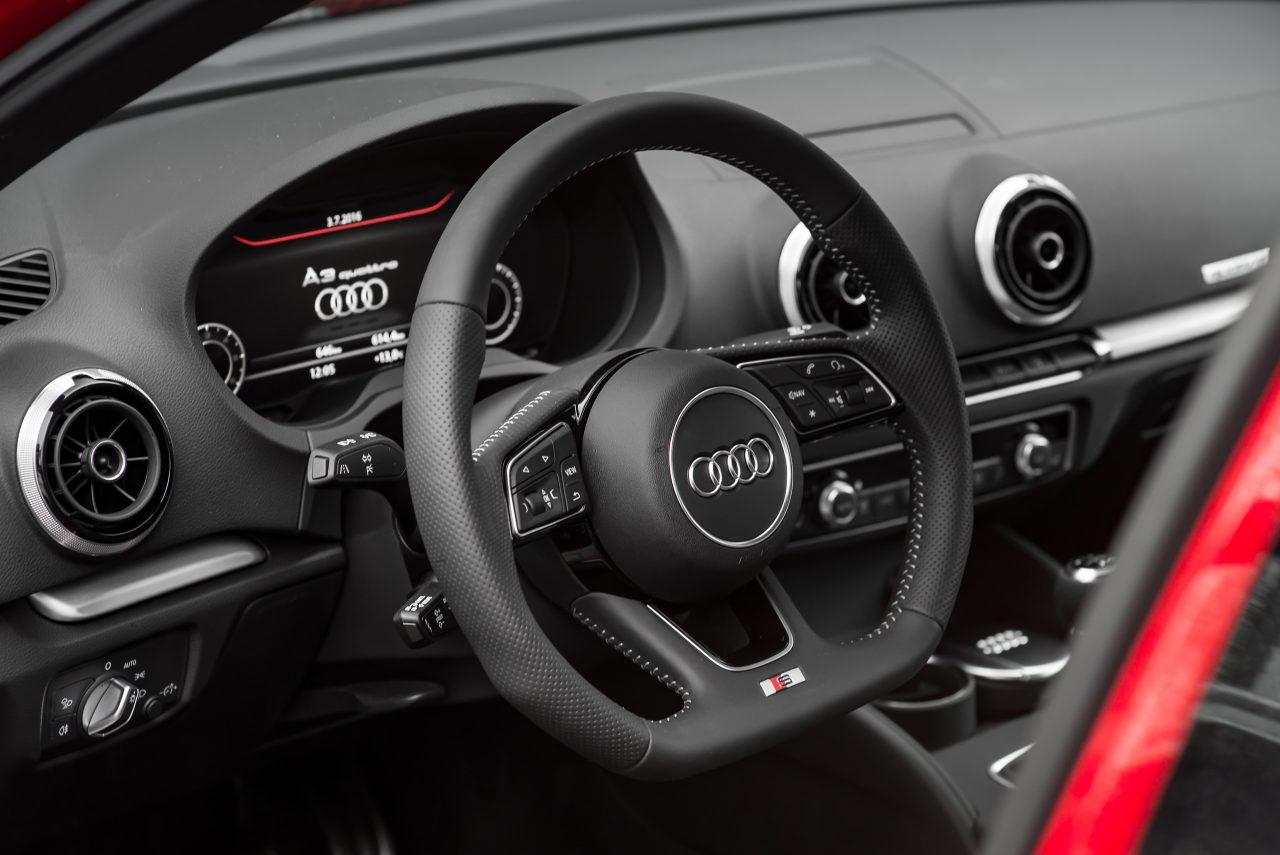 Wnętrze Audi A3