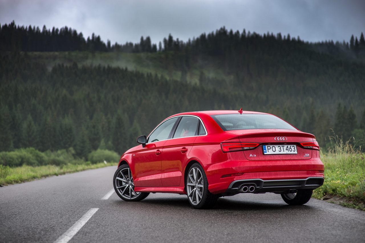 Nowe Audi A3 Limousine