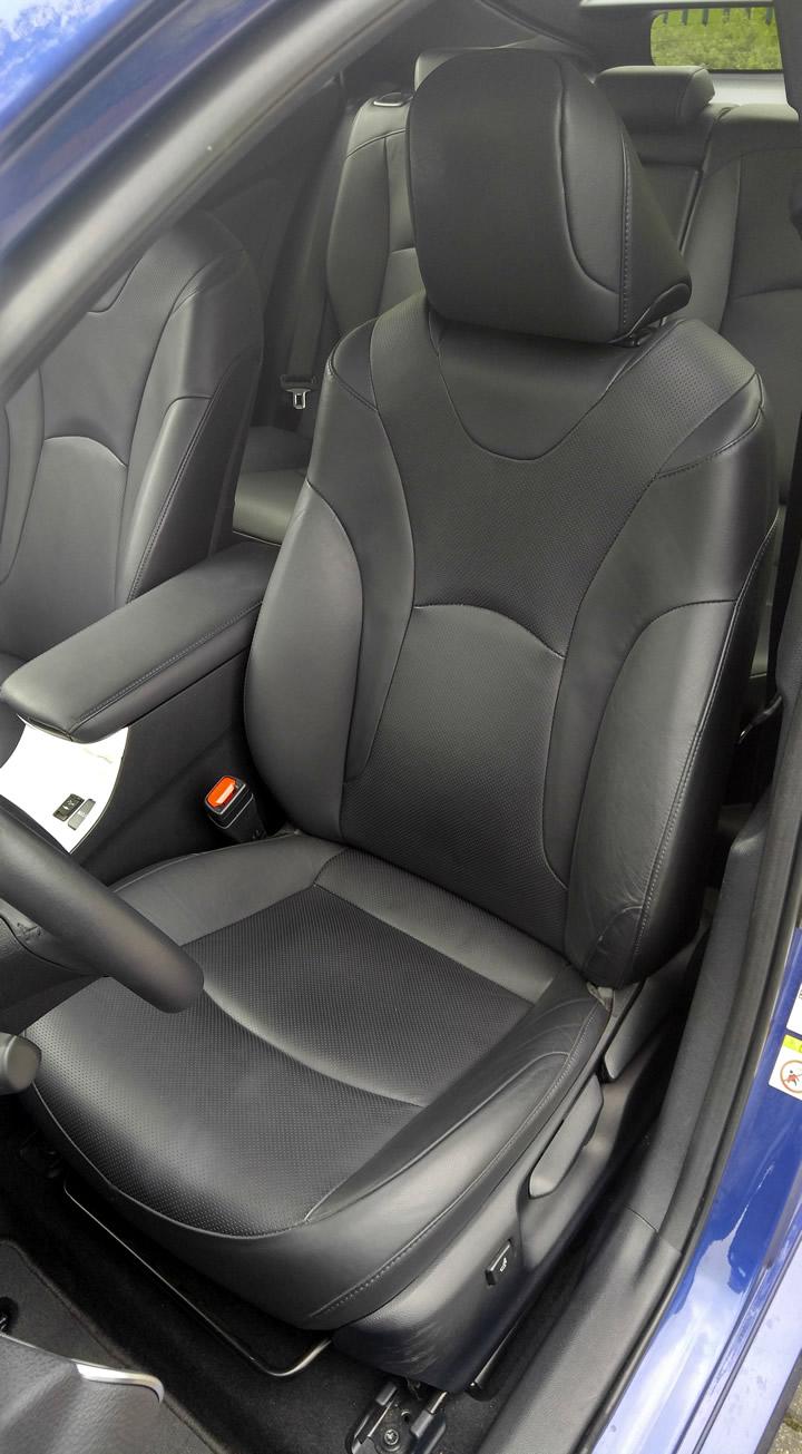 Siedzenia Toyoty Prius