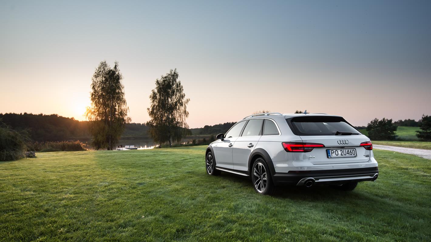 Audi A4 Allroad quattro (B9, 2016)
