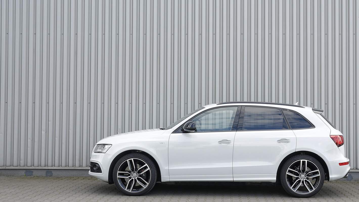 Sylwetka Audi SQ5 plus TDI