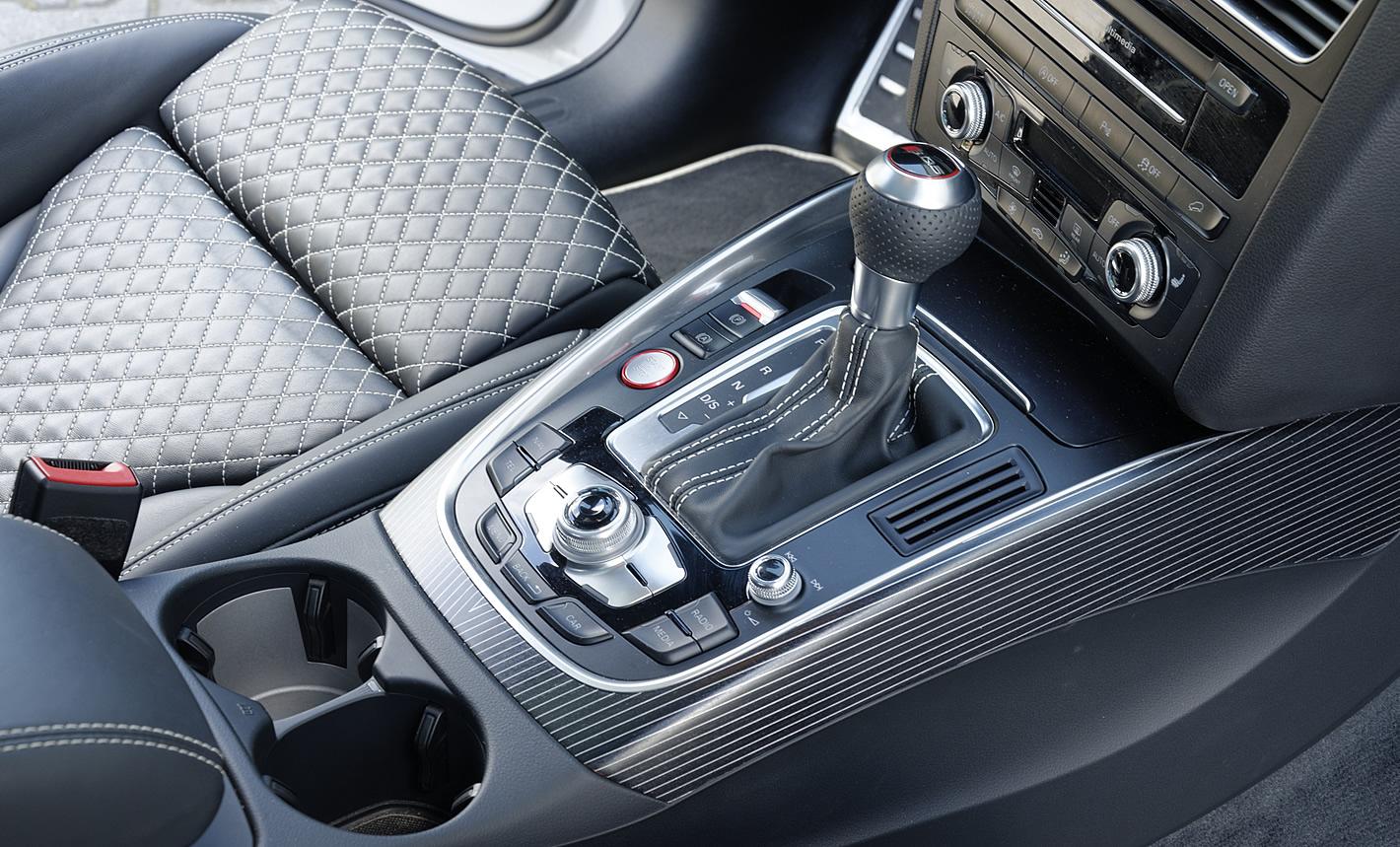 Konsola centralna w Audi SQ5 plus TDI