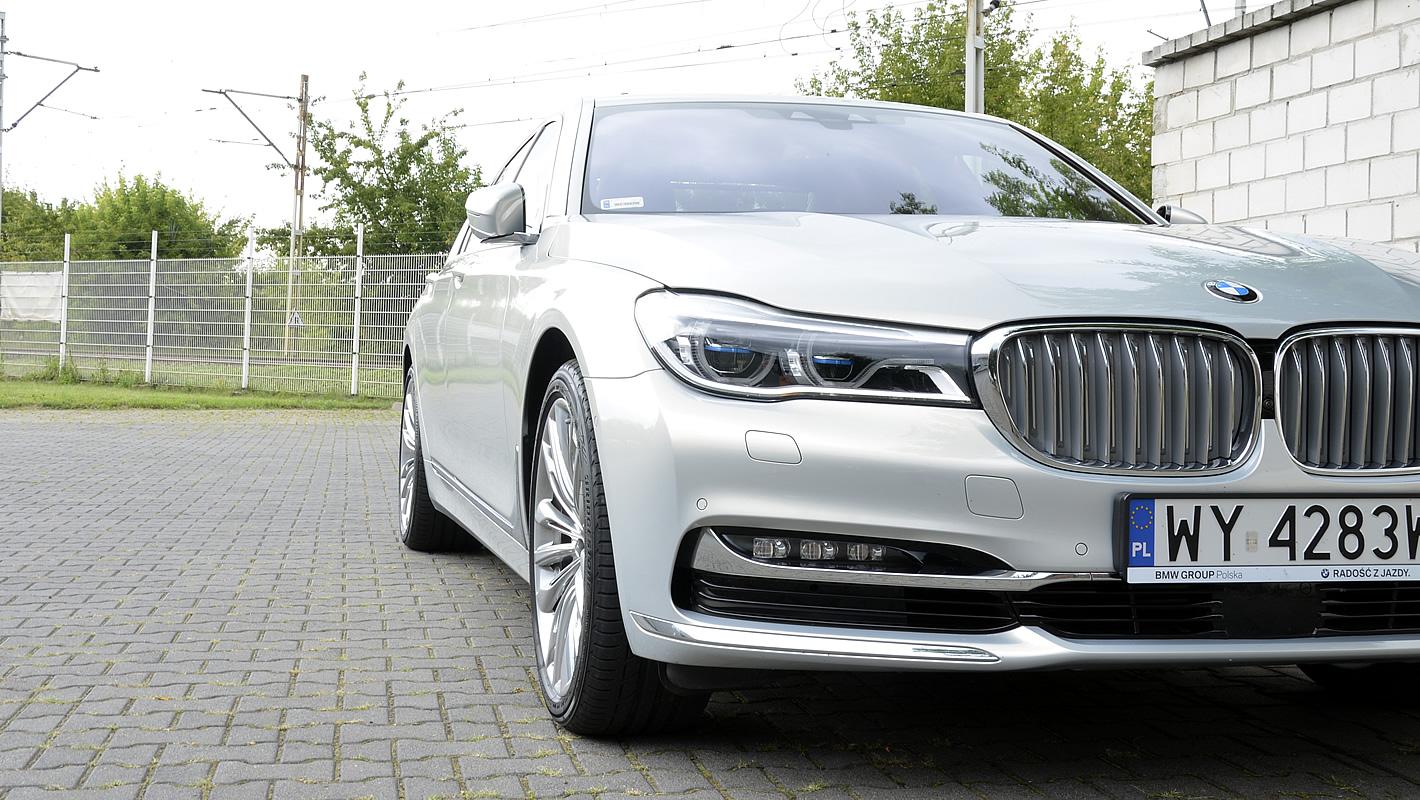 Laserowe reflektory w BMW serii 7