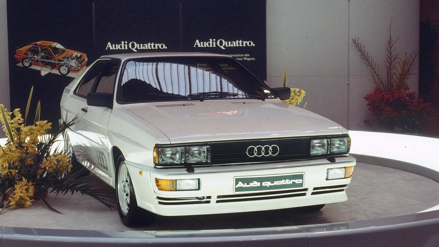 Oryginalne Audi quattro