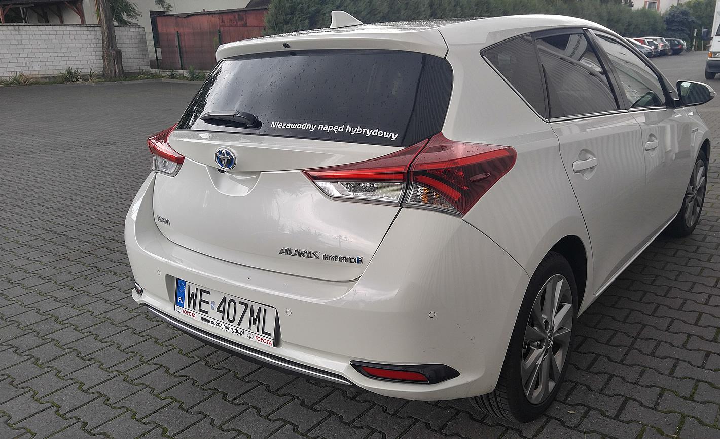 Toyota Auris Hybrid 2016 Moim Zdaniem Znacznie Lepsza Od Priusa