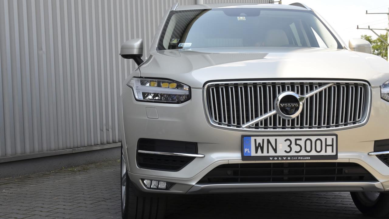 Full-LED active high beam Volvo XC90