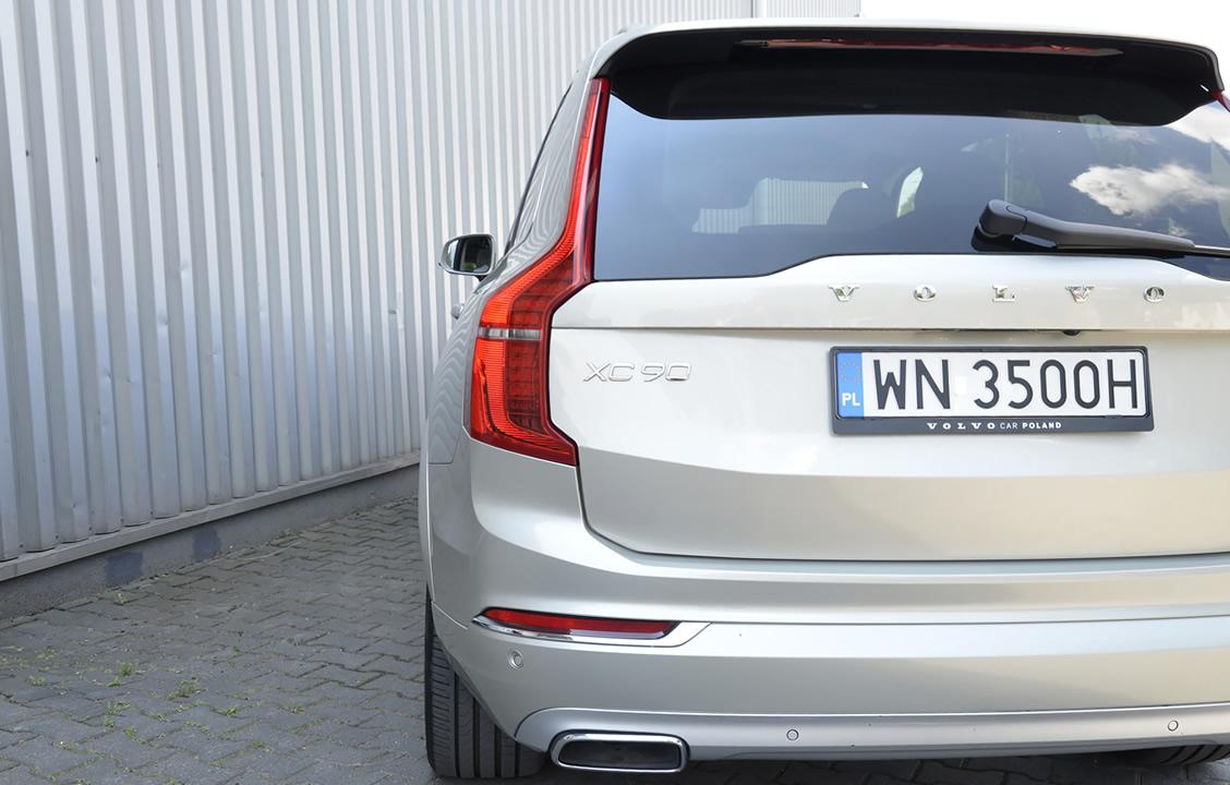 Typowa dla Volvo stylistyka XC90