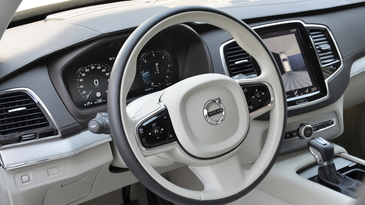 Eleganckie wnętrze Volvo XC90