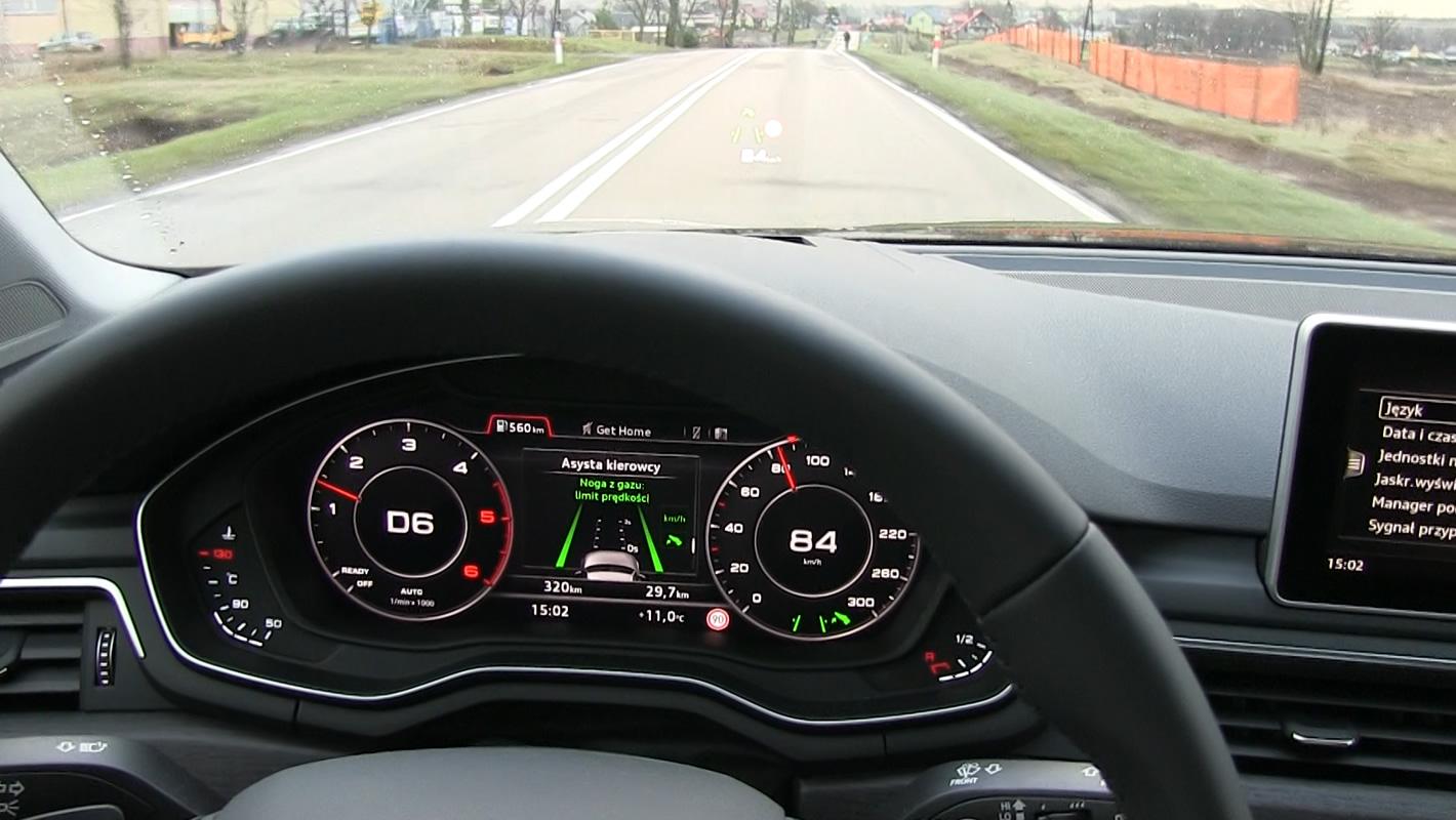 Asystent wydajności w Audi A4