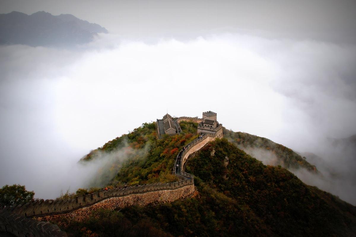 wielki mur chiński zdjęcie