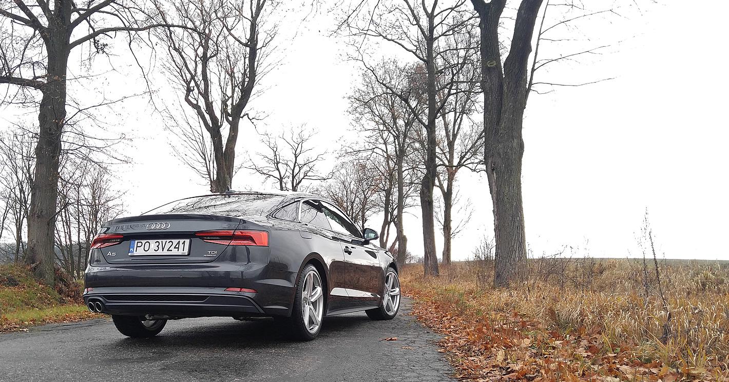 Nowe Audi A5 coupé quattro