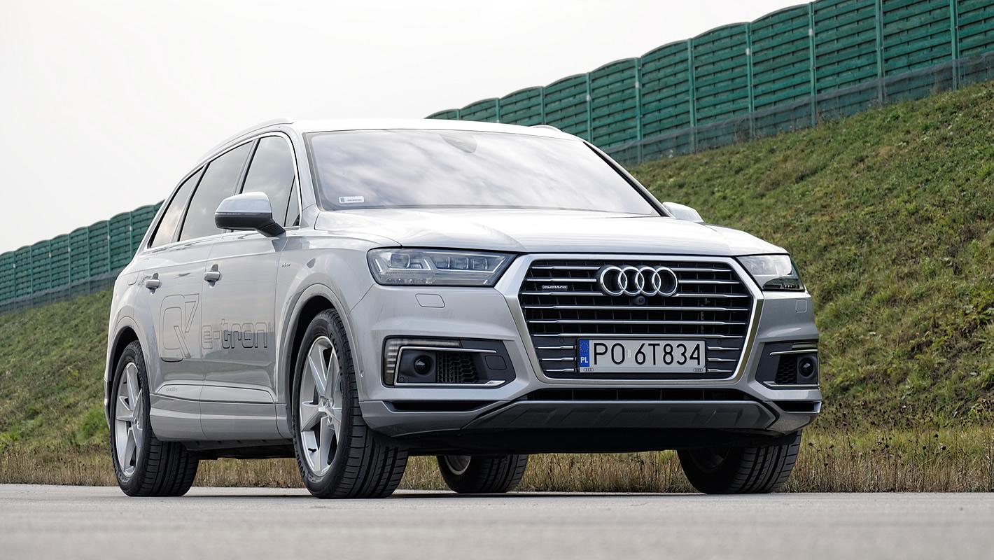 Audi Q7 e-tron 2017