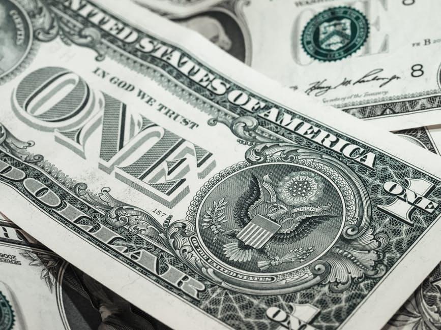 jednodolarowy banknot