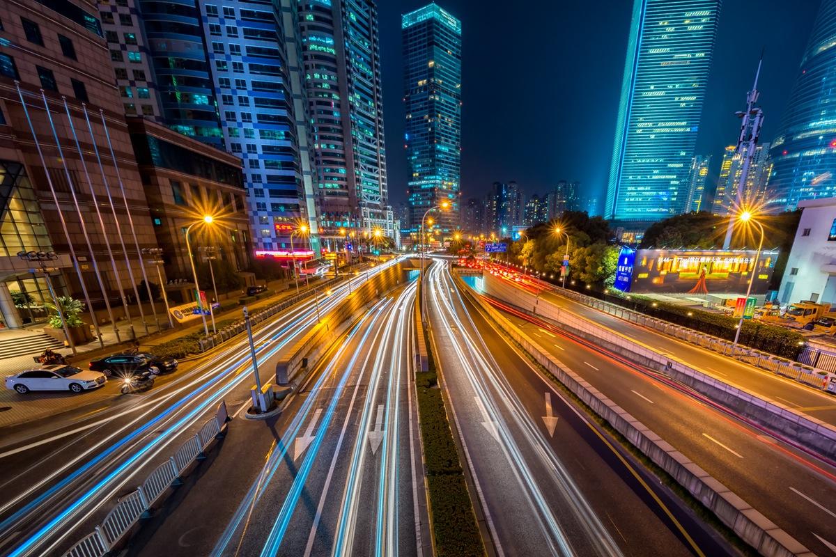 światła miasta zdjęcie