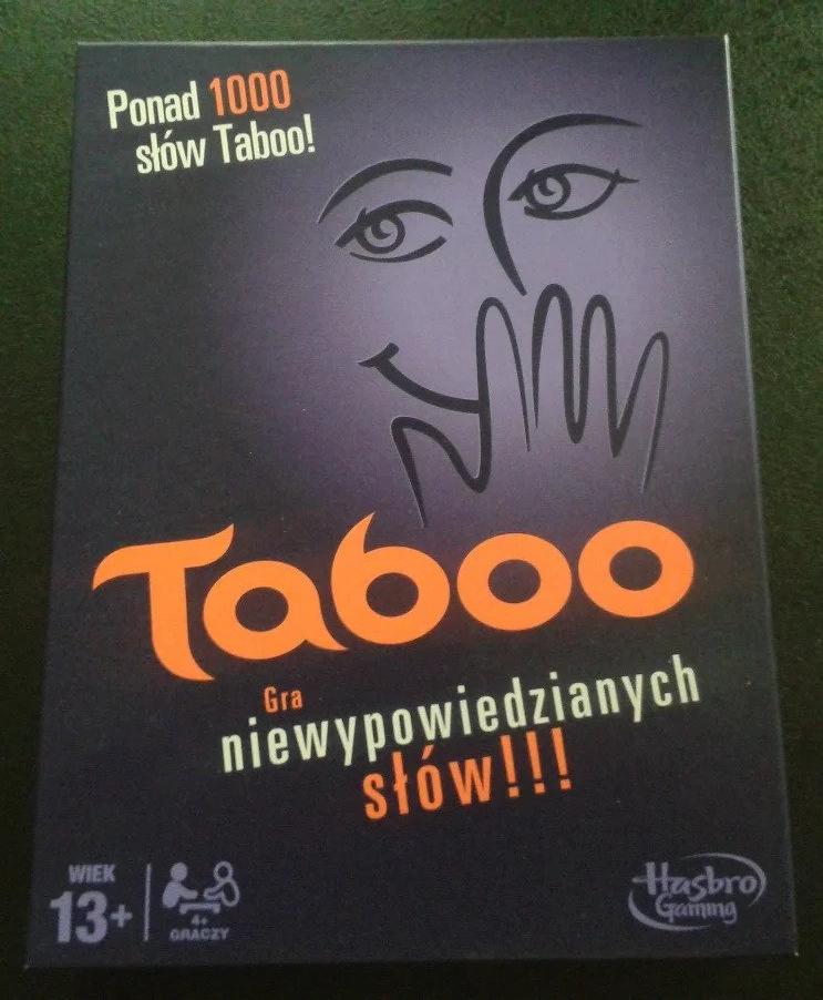 pudełko gry Taboo