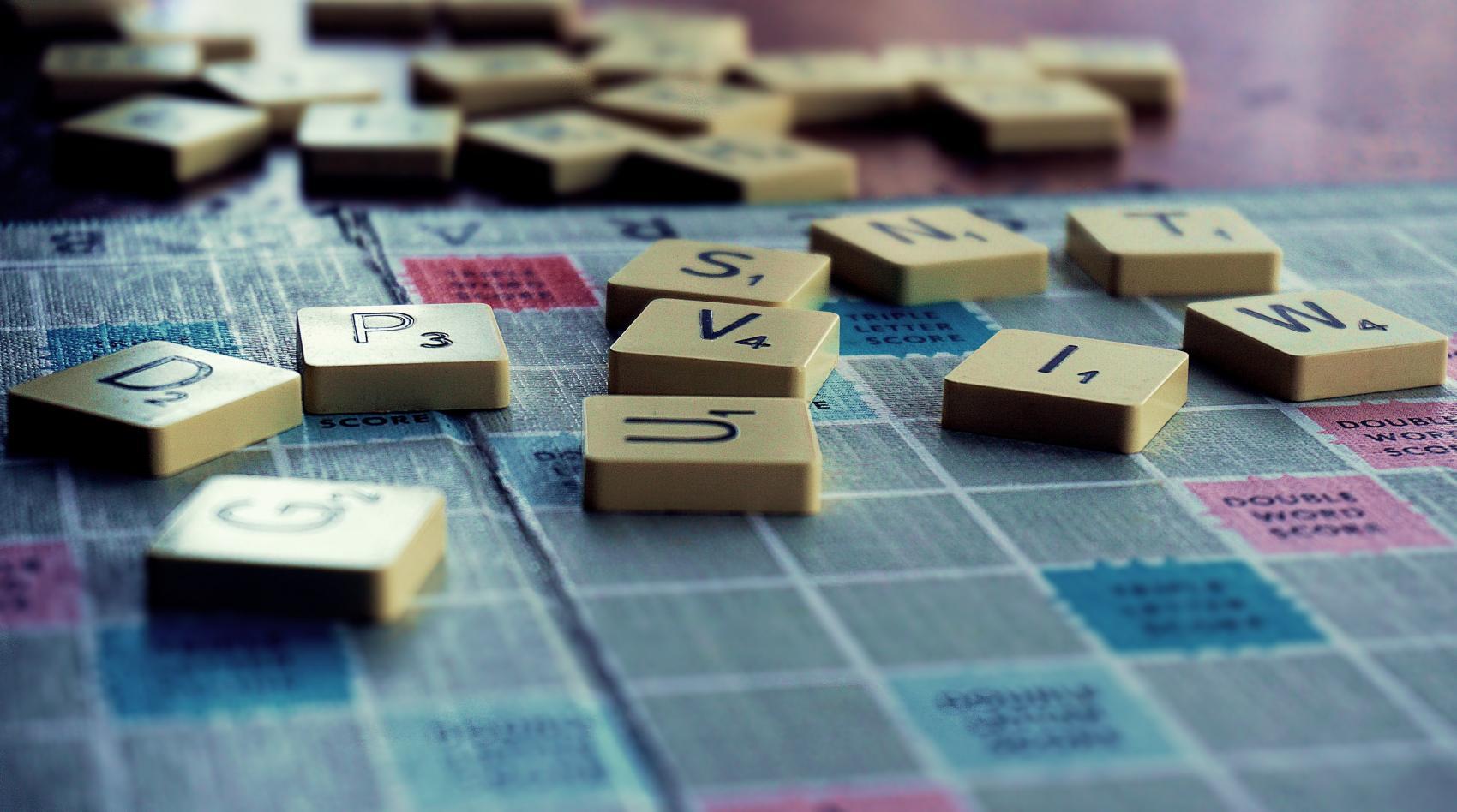gra planszowa Scrabble