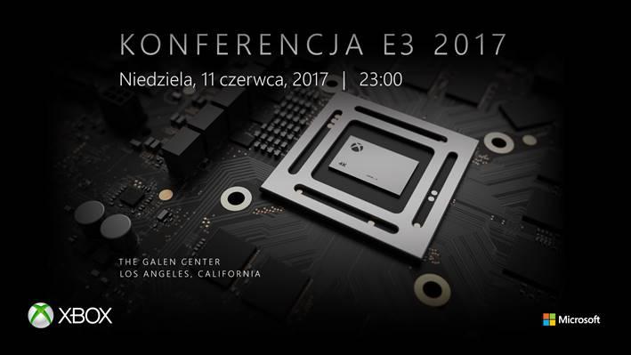Microsoft, Xbox Scorpio, E3 konferencja 2017