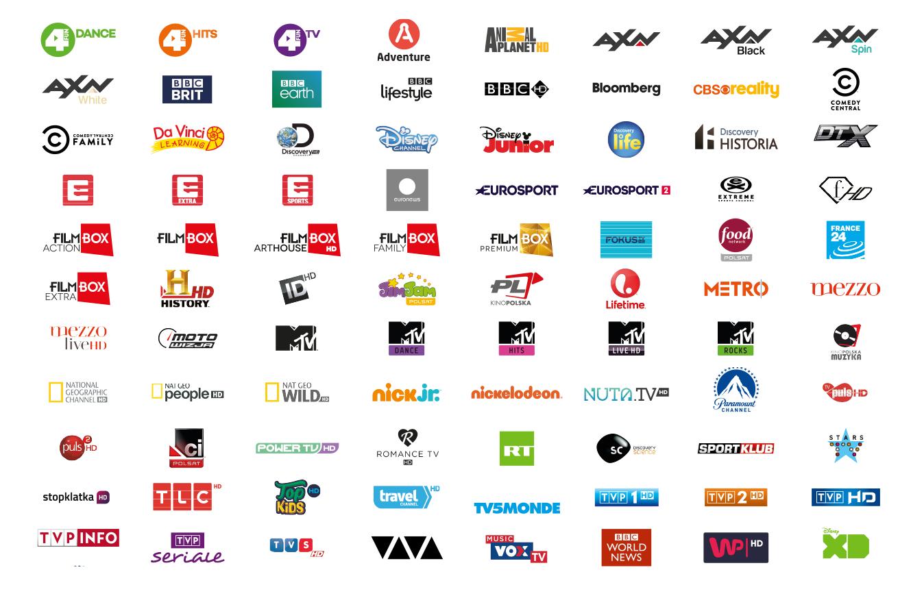 lista kanałów telewizji