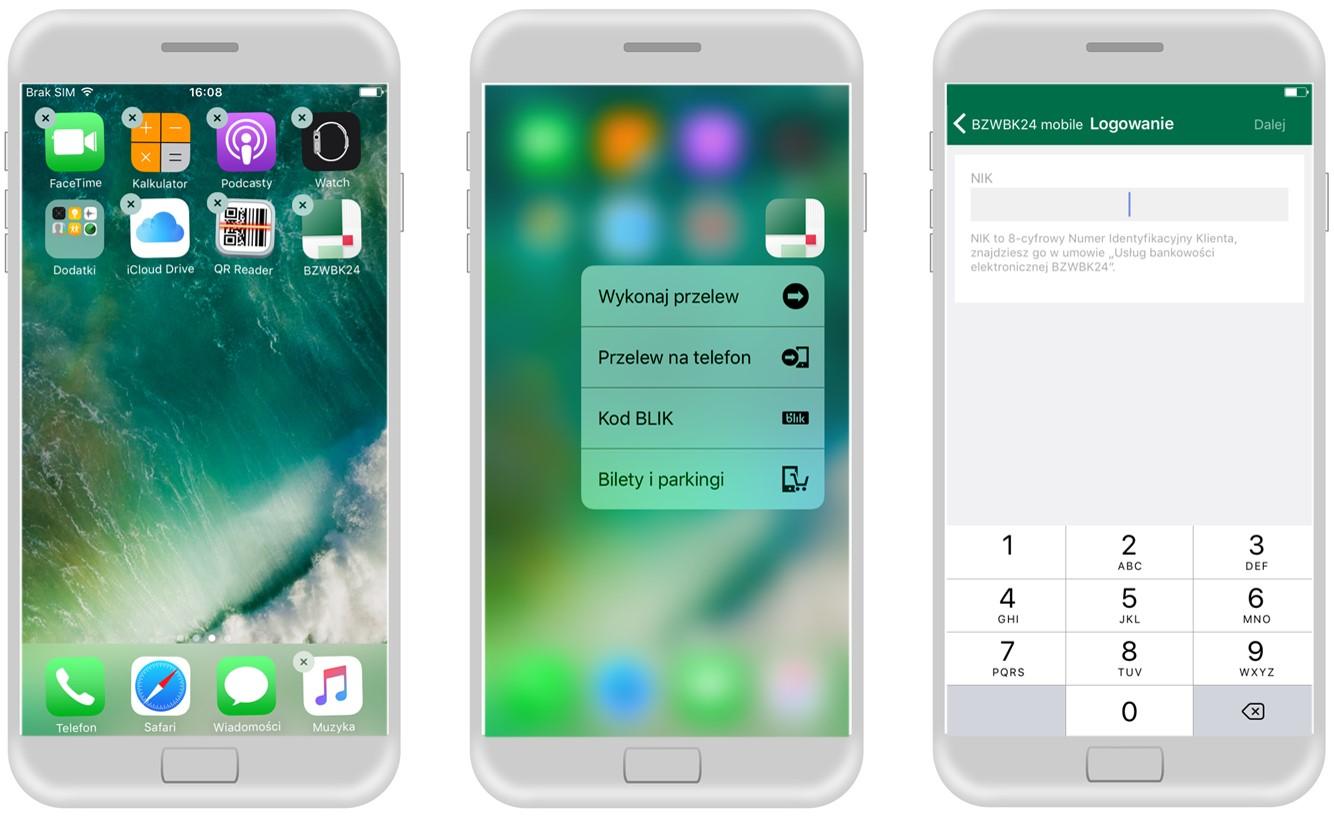 bzwbk logowanie do aplikacji na iphone
