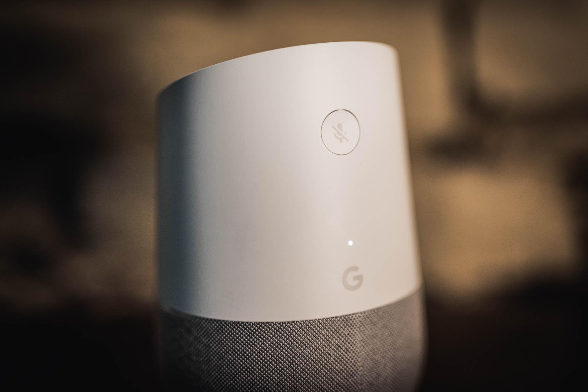 google home wygląd urządzenia