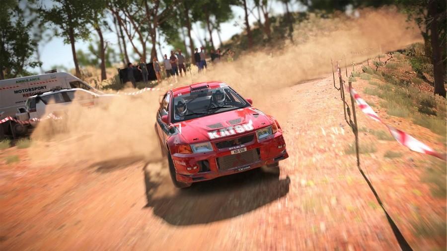 auto w terenie dirt 4