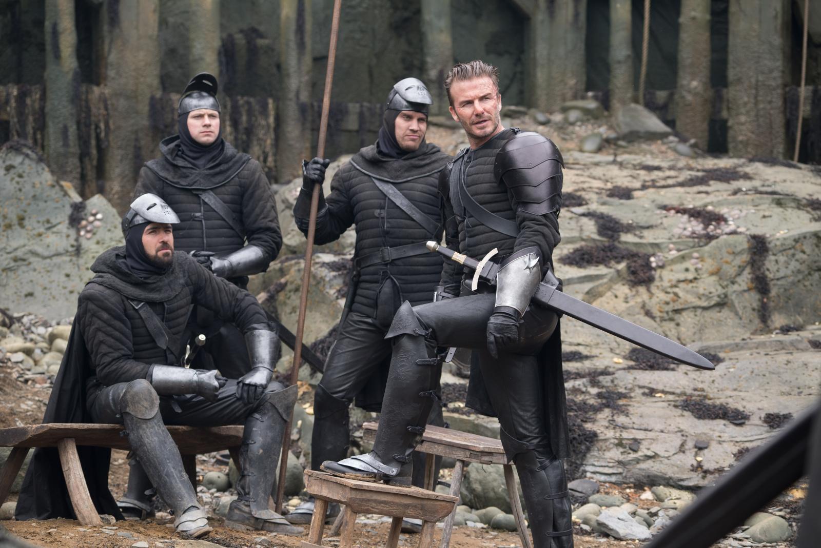 David Beckham w Król Artur: Legenda Miecza