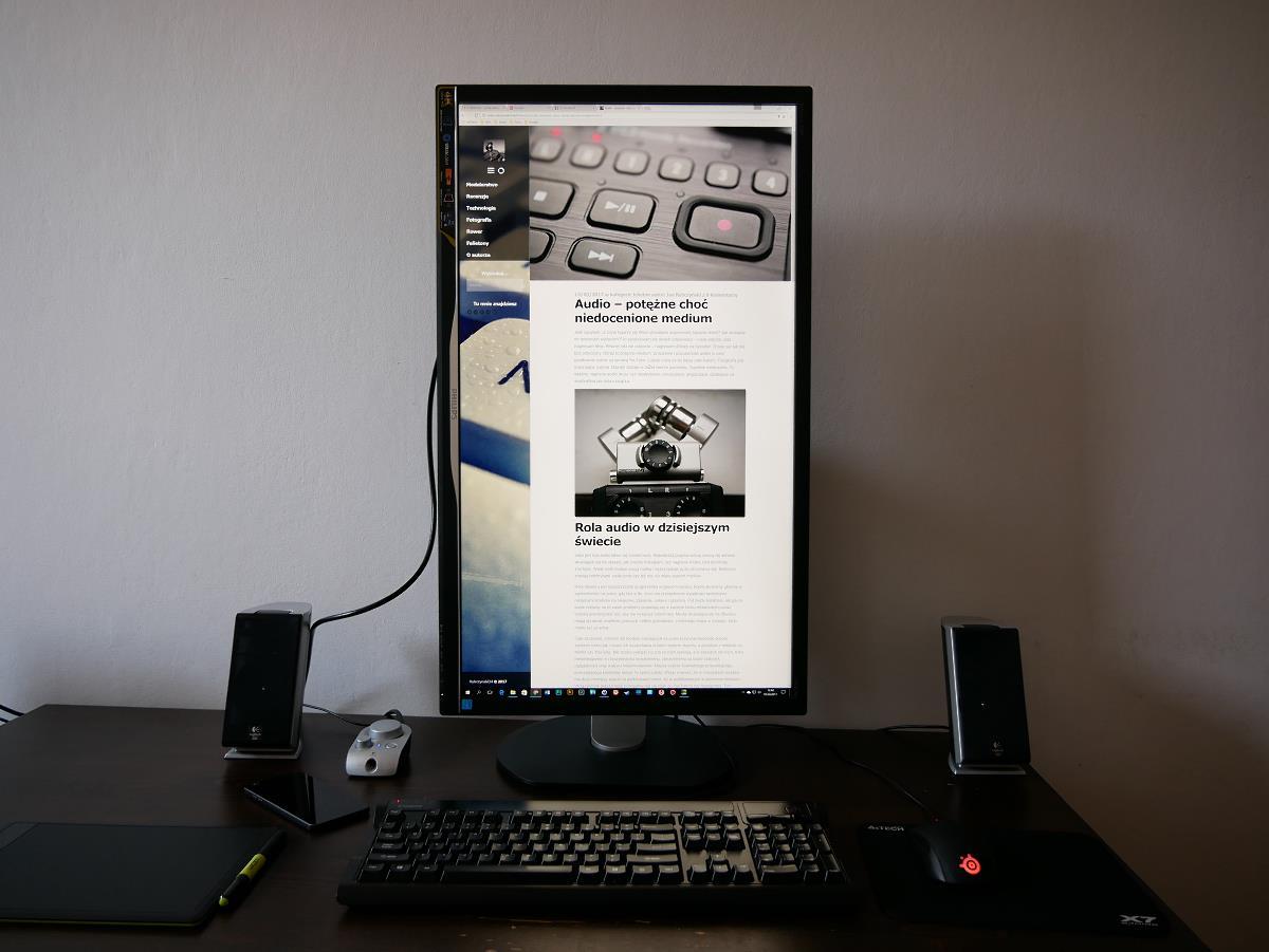 obrócony ekran Philips 328P6VJEB