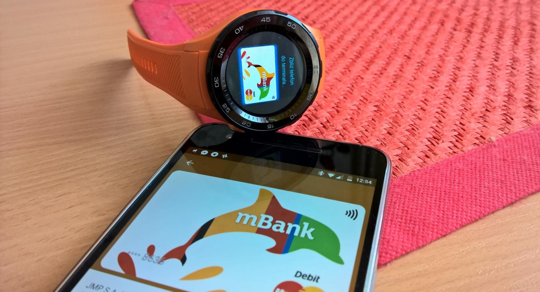 android pay zegarek smartphone
