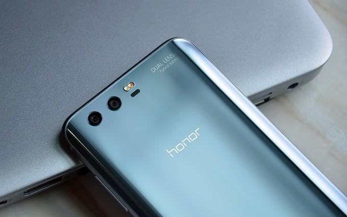 Honor 9 - wygląd telefonu od tyłu