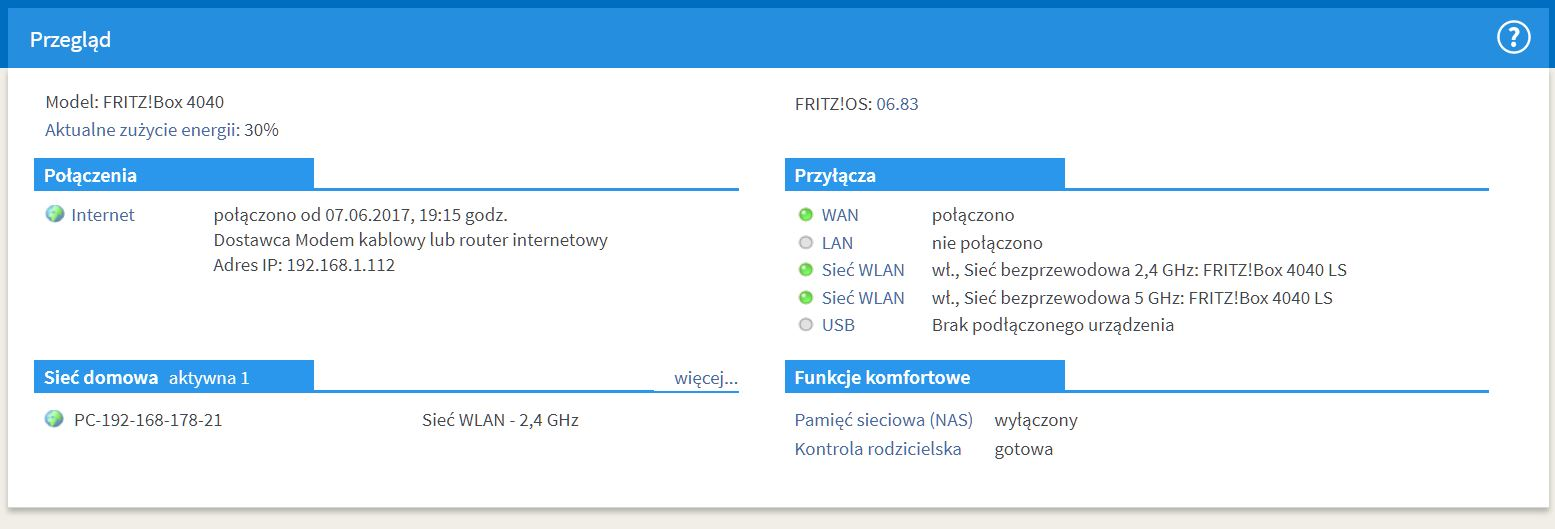 fritzbox 4040