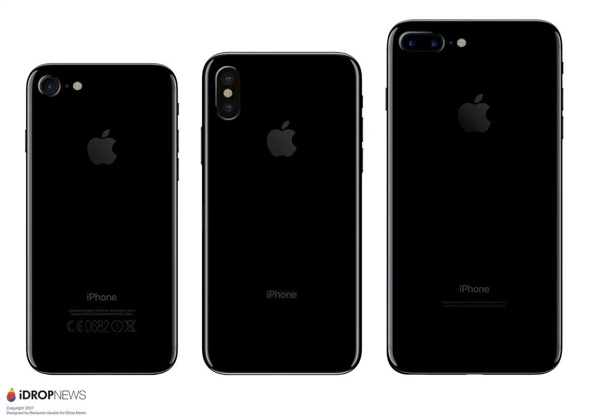 nowe modele iphone tył